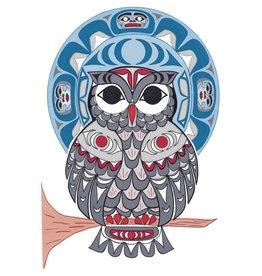 Owl par Angela Kimble Montée sur Passe-Partout