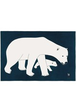 Bears on Blue par Kananginak Pootoogok Montée sur Passe-Partout