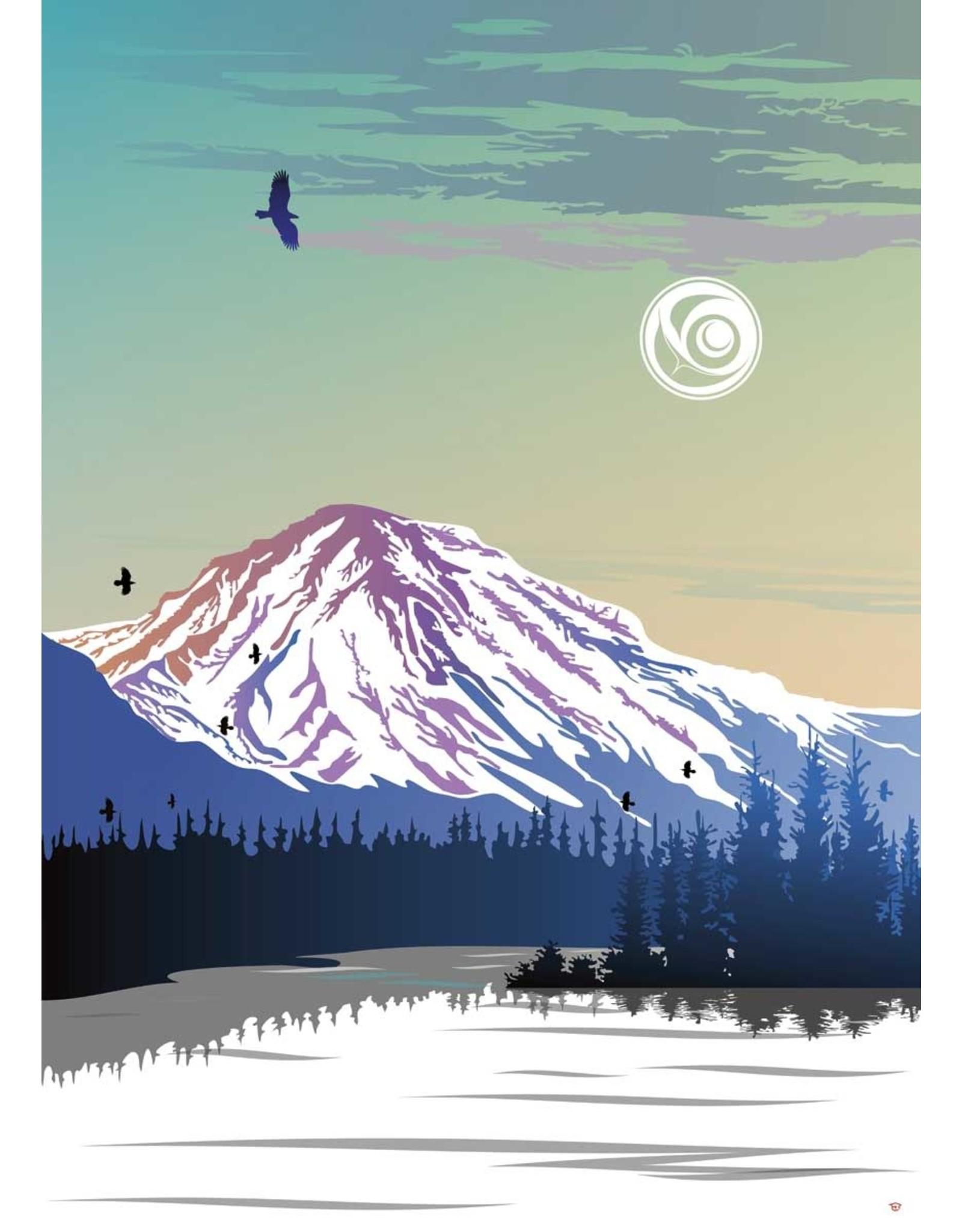 Yukon Mountain par Mark Preston Montée sur Passe-Partout