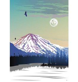 Yukon Mountain by Mark Preston Matted