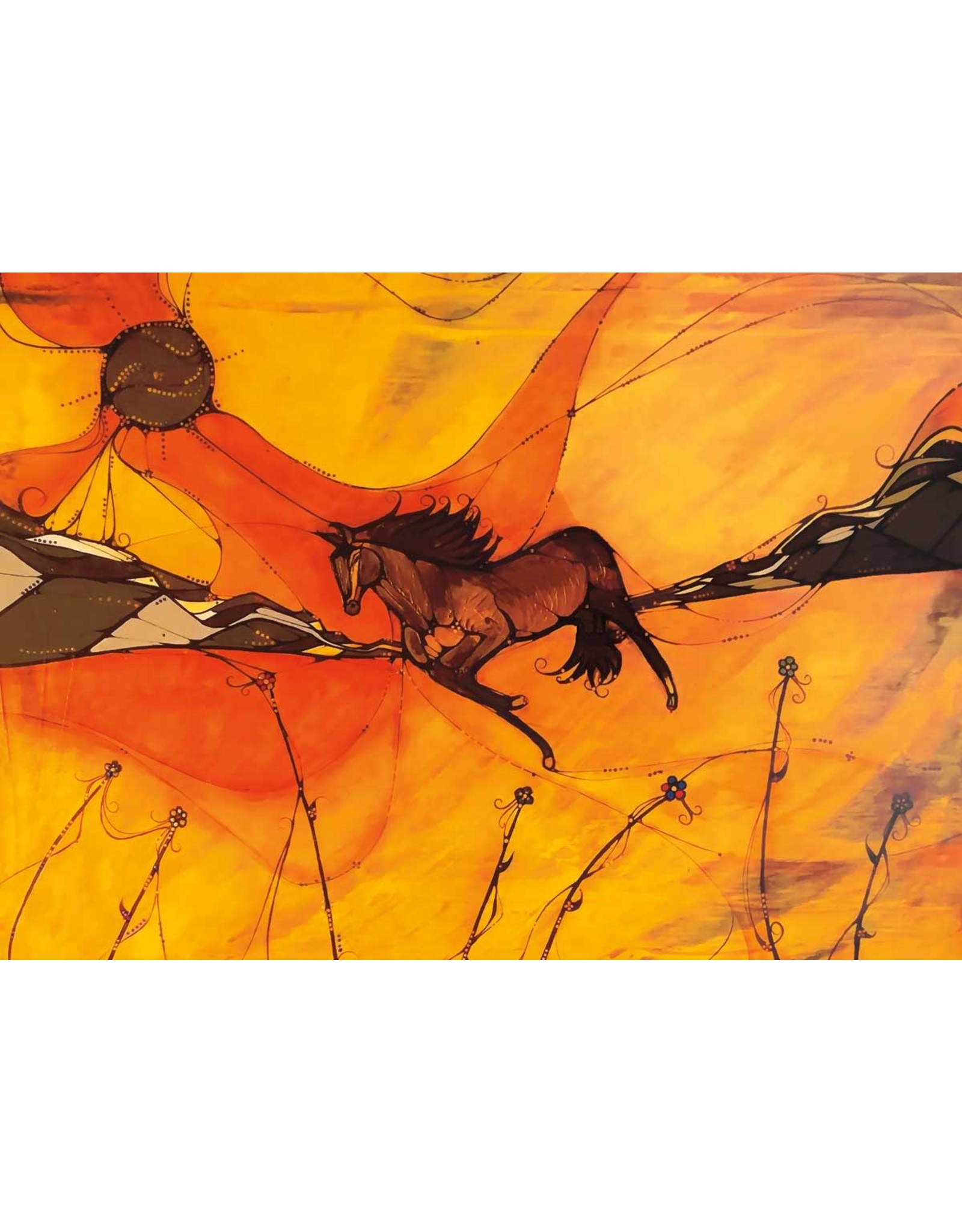 Notin (Wind) by Laird Goulet Matted