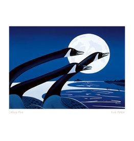 Calling Blue par Rick Beaver Montée sur Passe-Partout