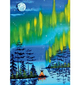 Northern Lights by William Monague Matted