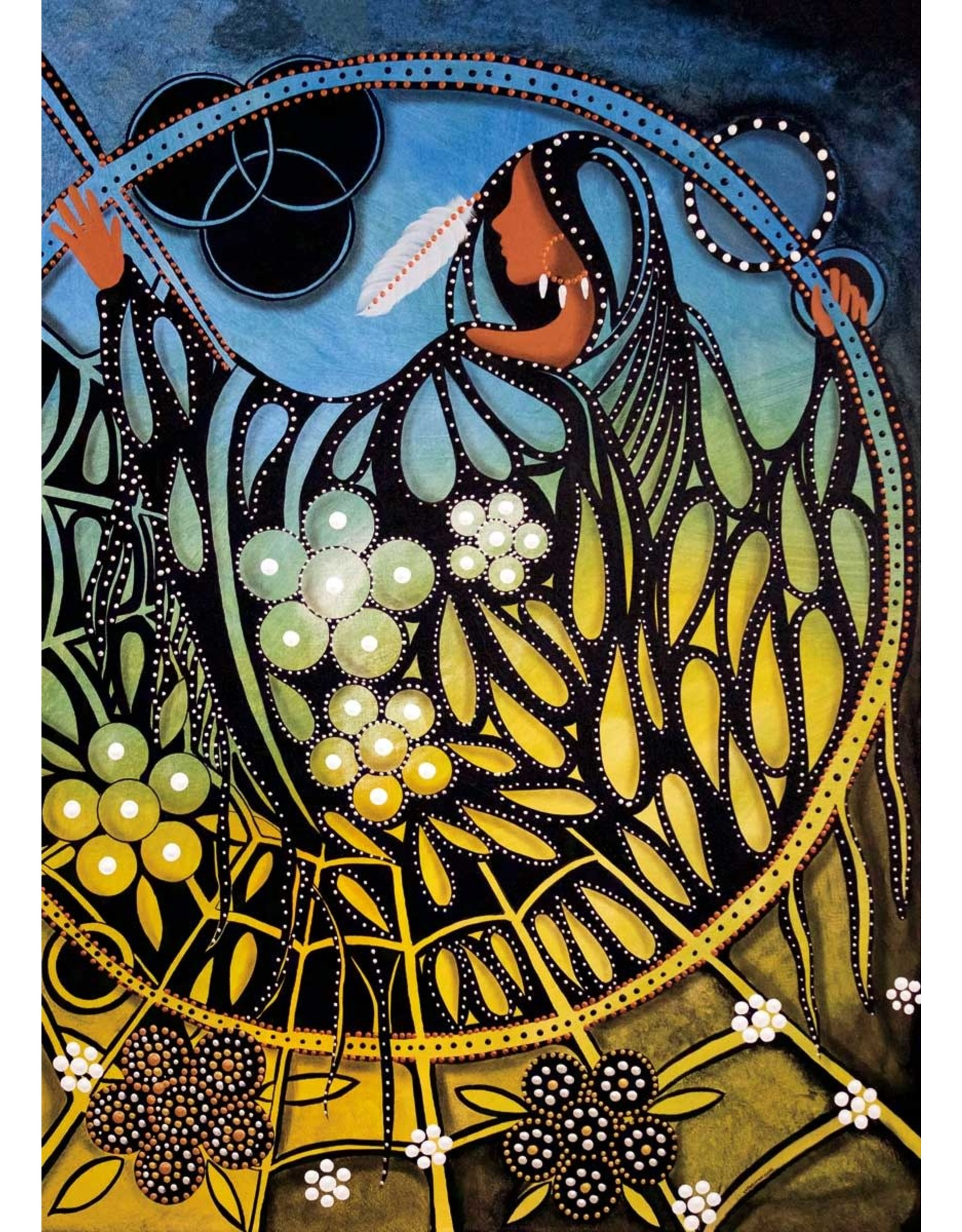Sacred Space by Betty Albert Matted