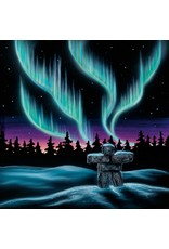 Sky Dance - Inukshuk by Amy Keller-Rempp Matted