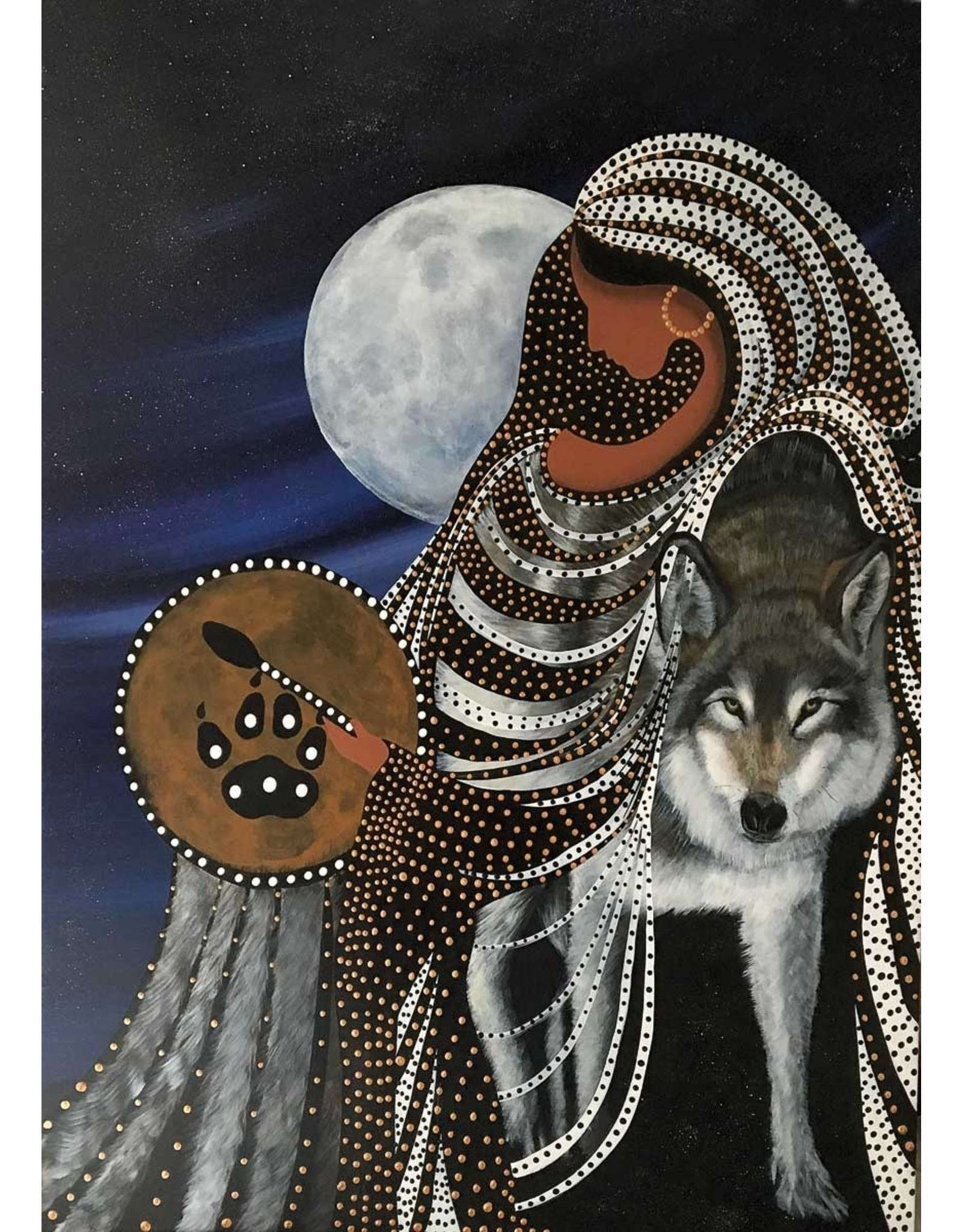 Shape Shifter by Betty Albert Matted