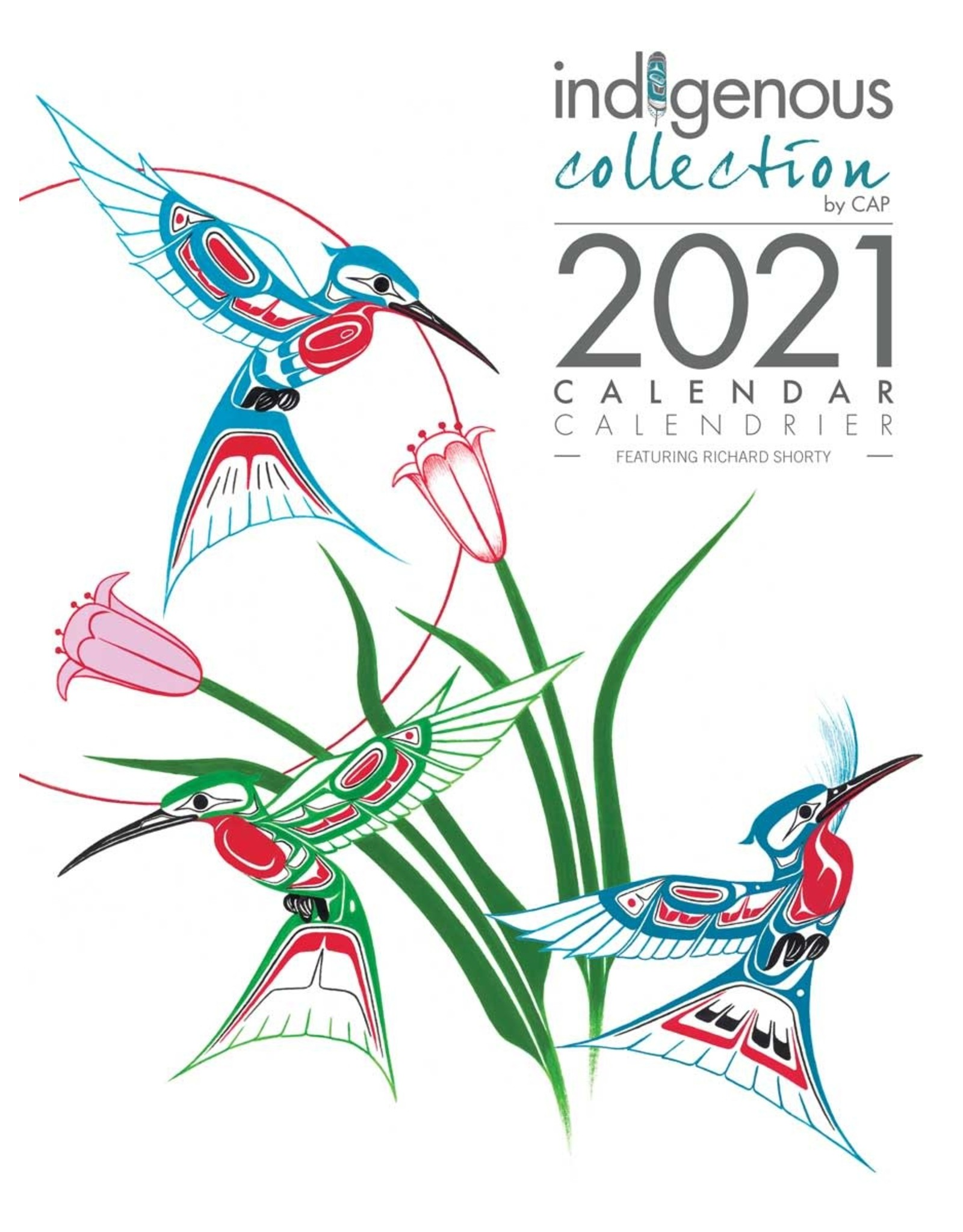 Richard Shorty 2021 Calendar - CAL 100
