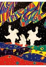 Dancing Bear par Dawn Oman Encadrée