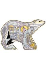 Polar Bear par Sue Coccia Encadrée