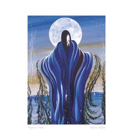 August Moon by Betty Albert Framed
