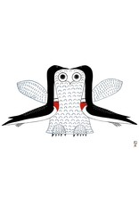Imaginary Owl by Ohotaq Mikkigak Framed
