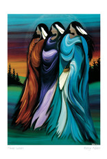 Three Sisters by Betty Albert Framed