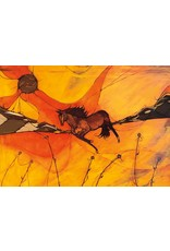 Notin (Wind) by Laird Goulet Framed