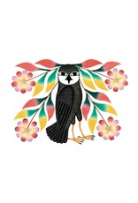 Owl's Bouquet by Kenojuak Ashevak Card