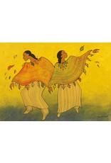 Autumn Dance by Maxine Noel Card
