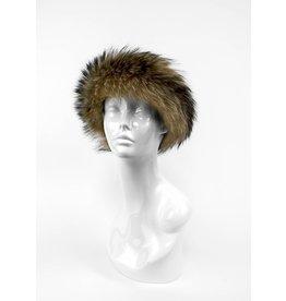 Finn Raccoon Headband/Scarf