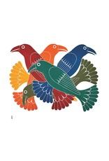 Spectacular Ravens par Kenojuak Ashevak Montée sur Passe-Partout