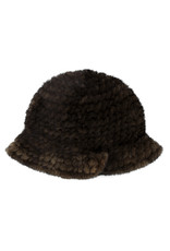 Chapeau en Vison Tricoté