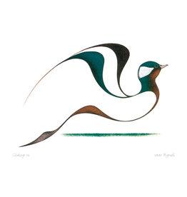 Gliding In par Isaac Bignell Encadrée
