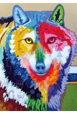 Big Wolf by John Balloue Framed