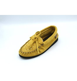 Indian Tan Moccasin with Beading