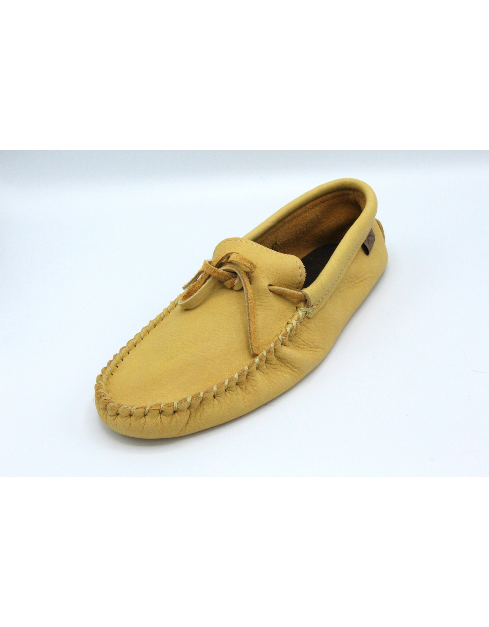 Men's Natural Moose Hide Moccasin  - 126M
