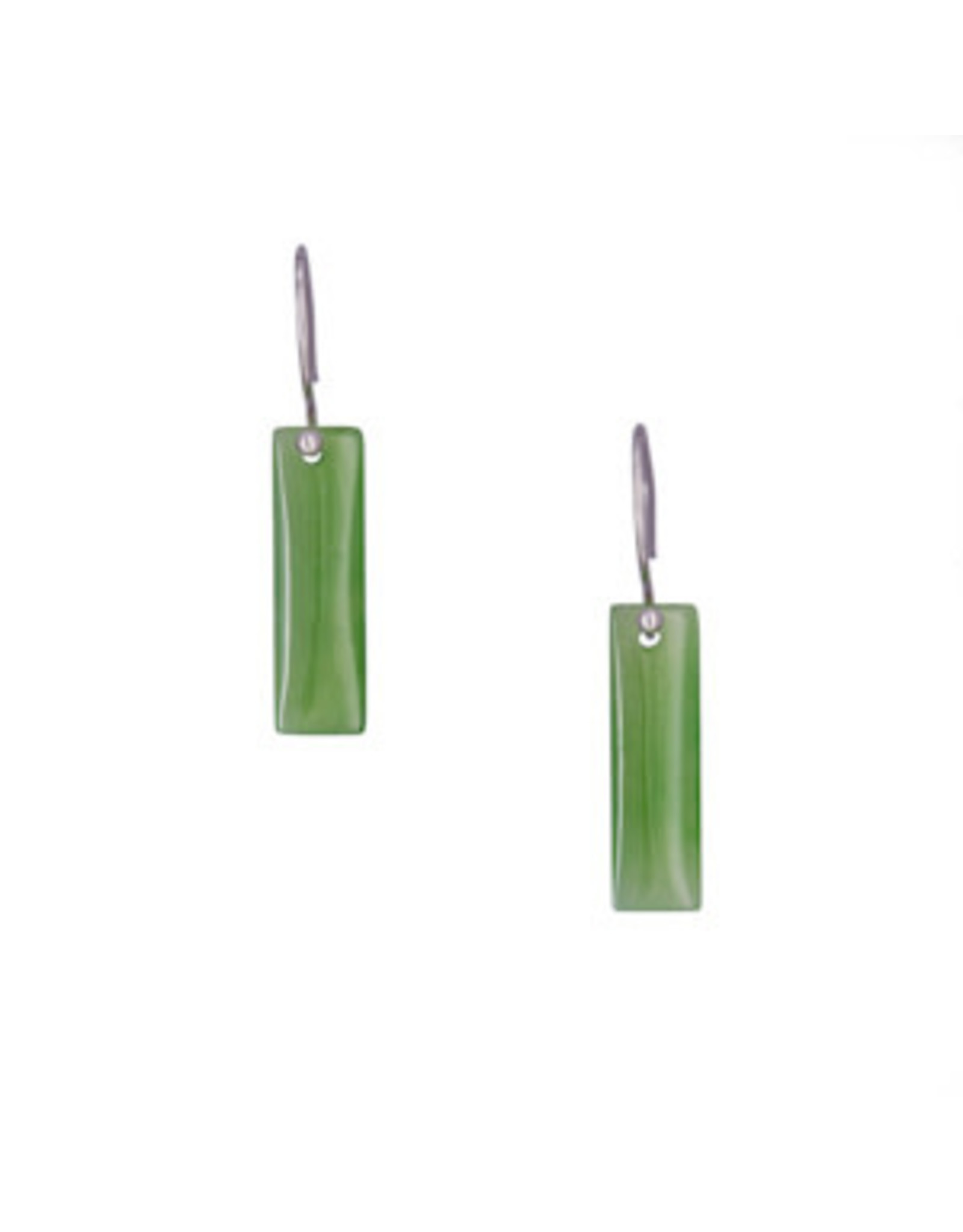 Jade Rectangle Earrings - JDS75