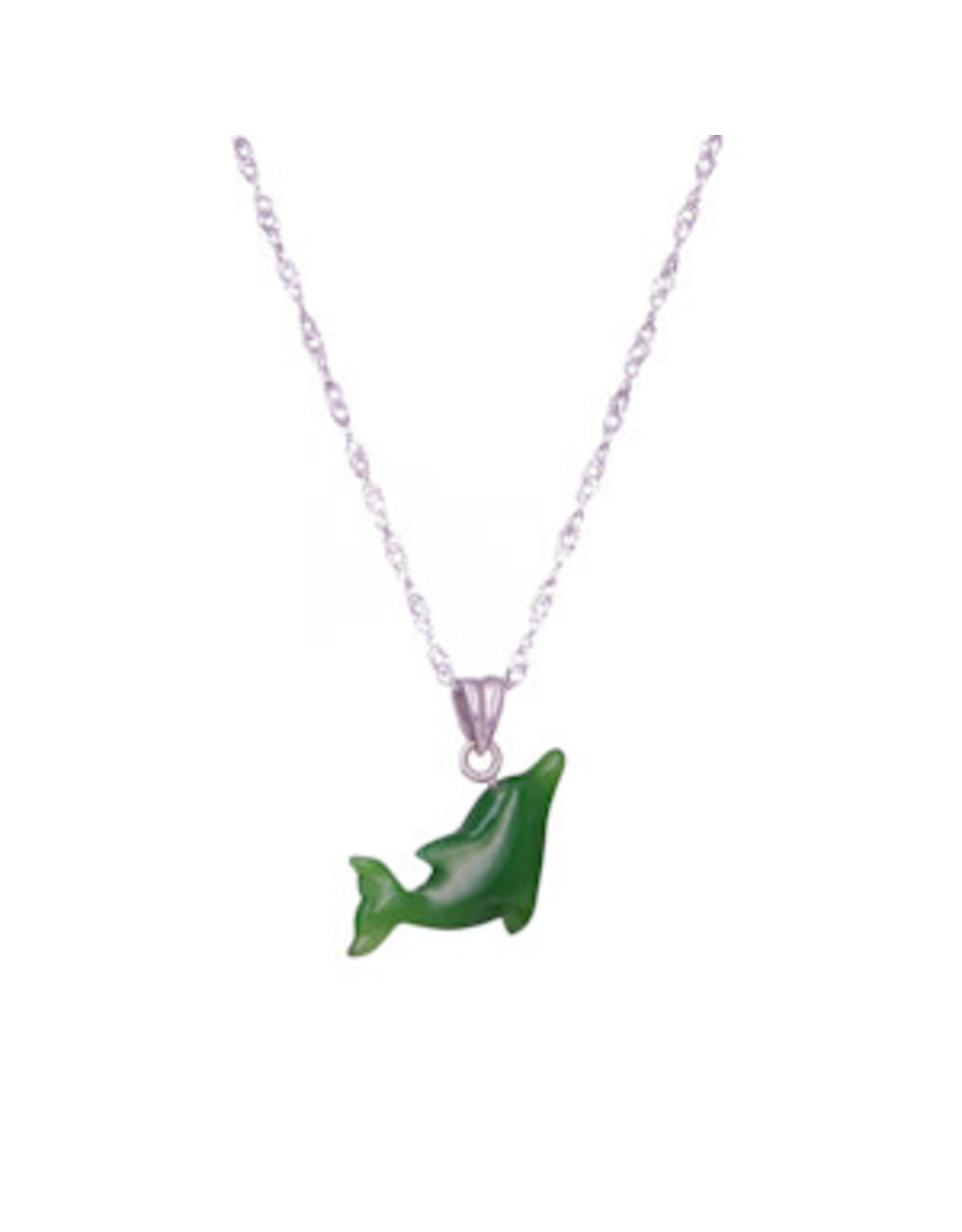 Jade Dolphin Necklace - JPS58