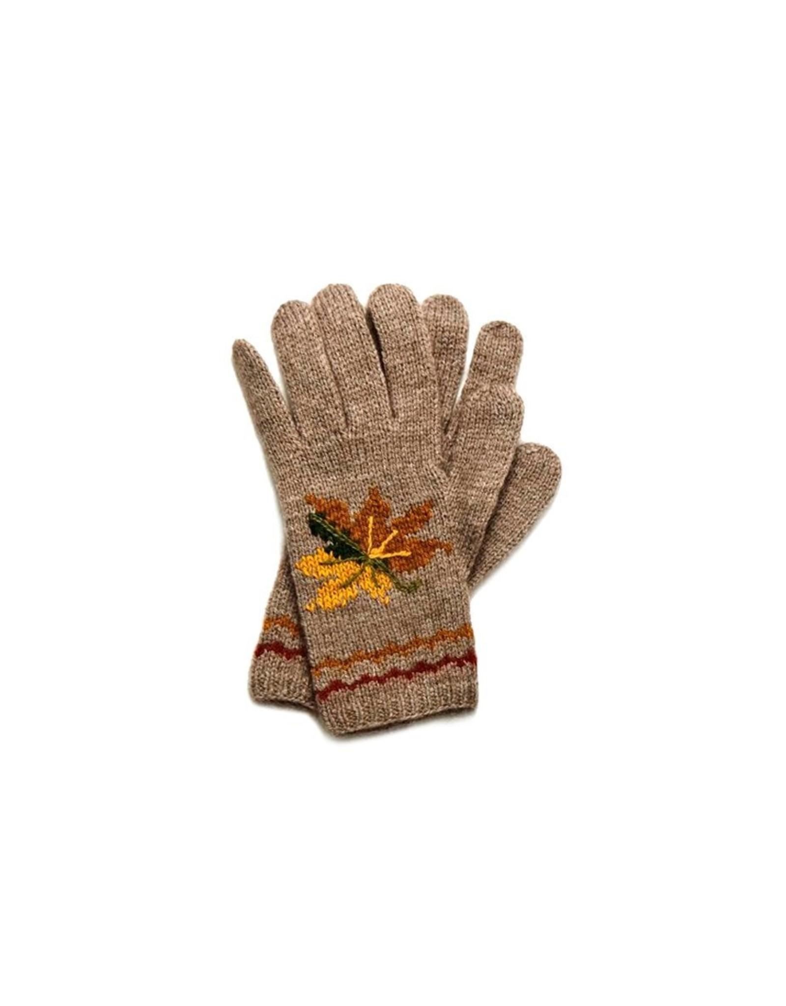 Wind Gloves - 45% Qiviuk 45% Merino 10% Silk