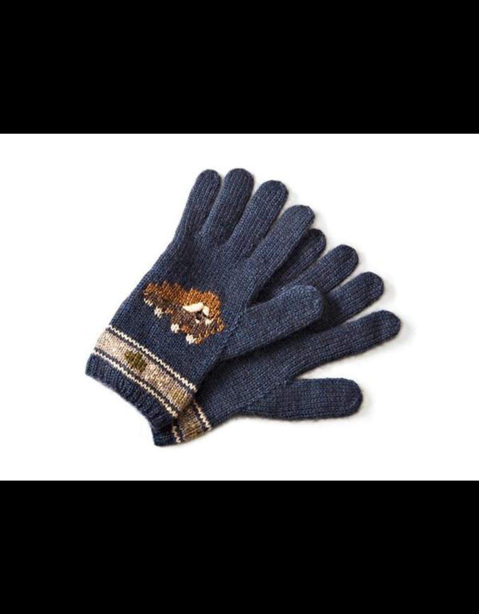 Muskox Gloves - 45% Qiviuk 45% Merino 10% Silk