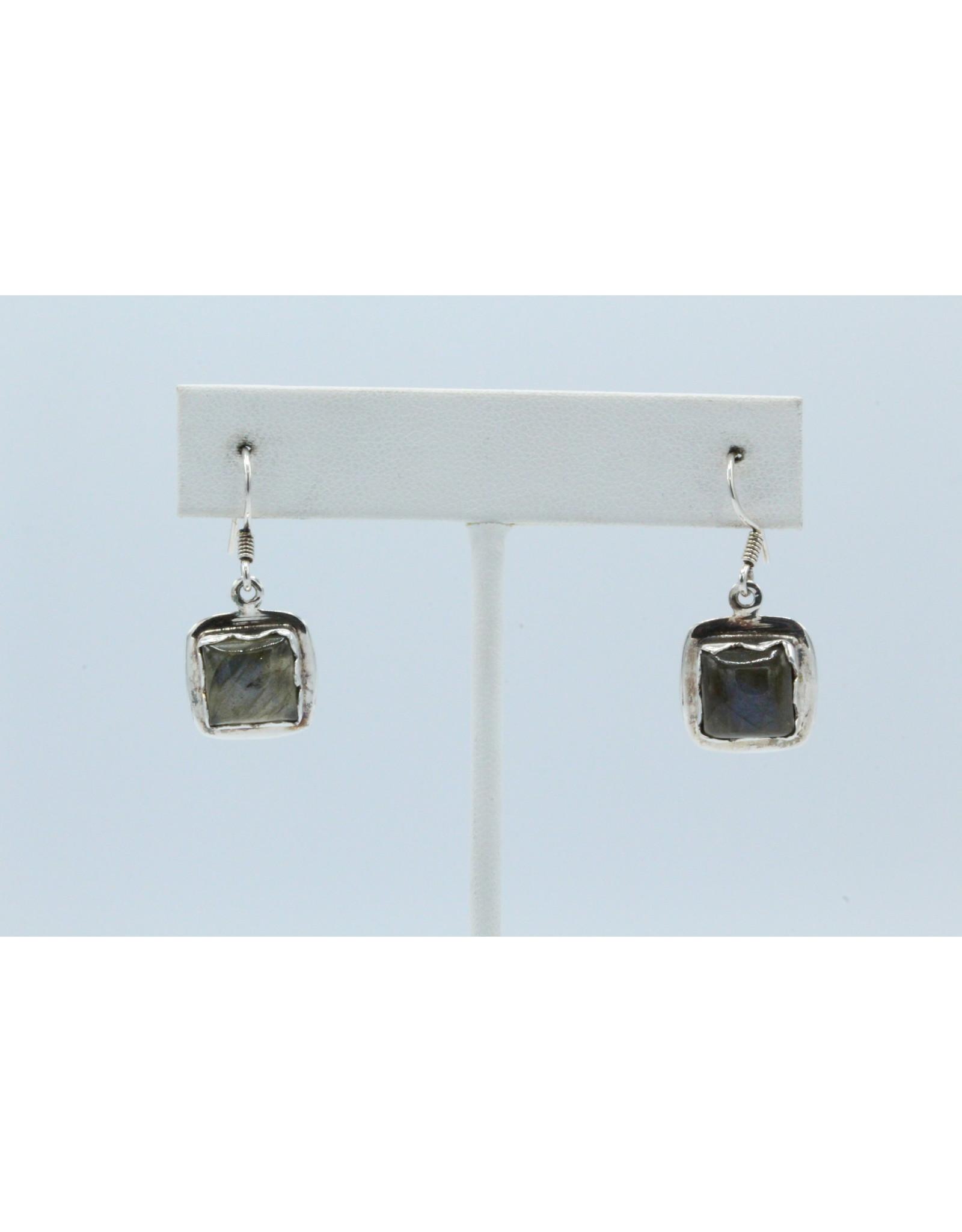 Labradorite Earrings - 104420
