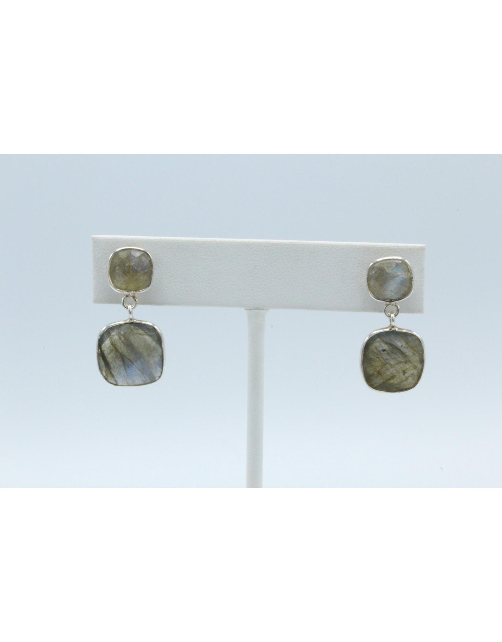 Labradorite Earrings - 104748