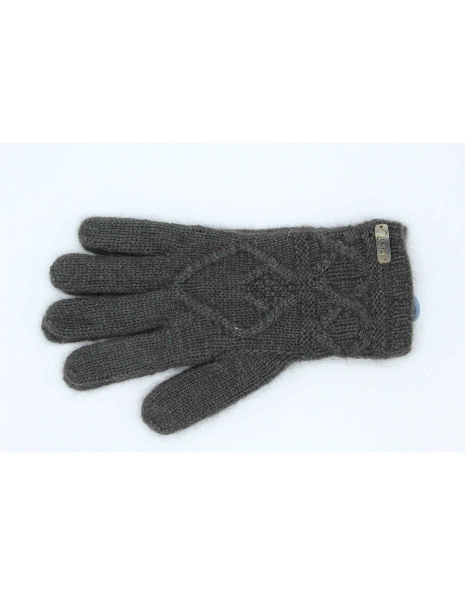 Mena Gloves - 45% Qiviuk 45% Merino 10% Silk