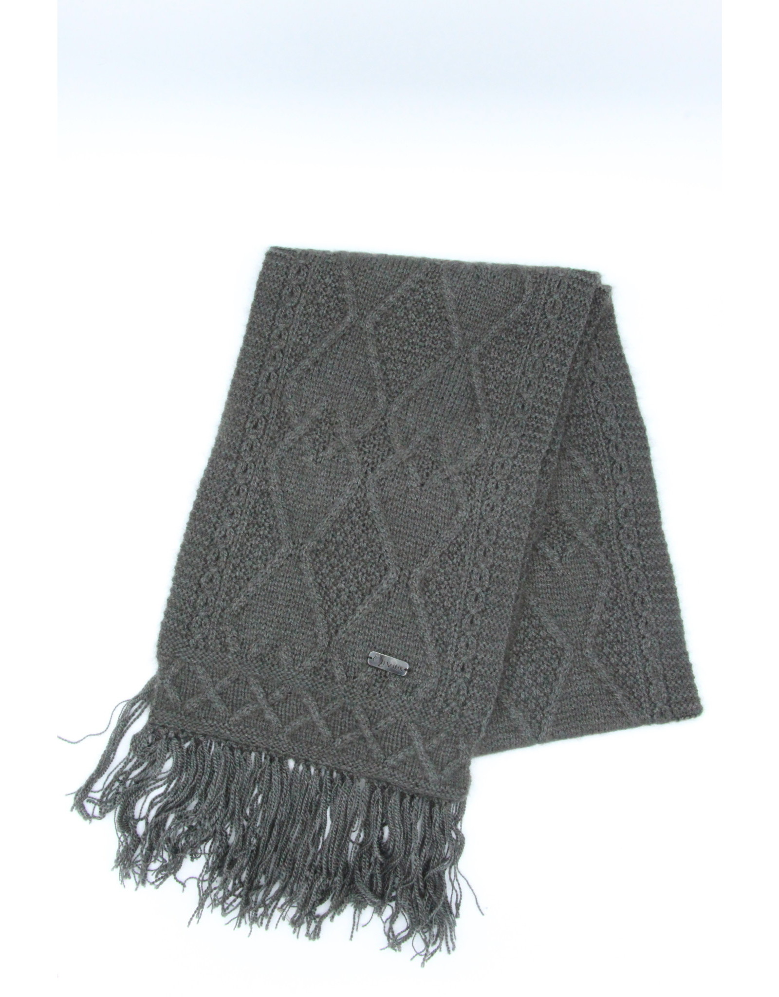 Mena Scarf - 45% Qiviuk 45% Merino 10% Silk