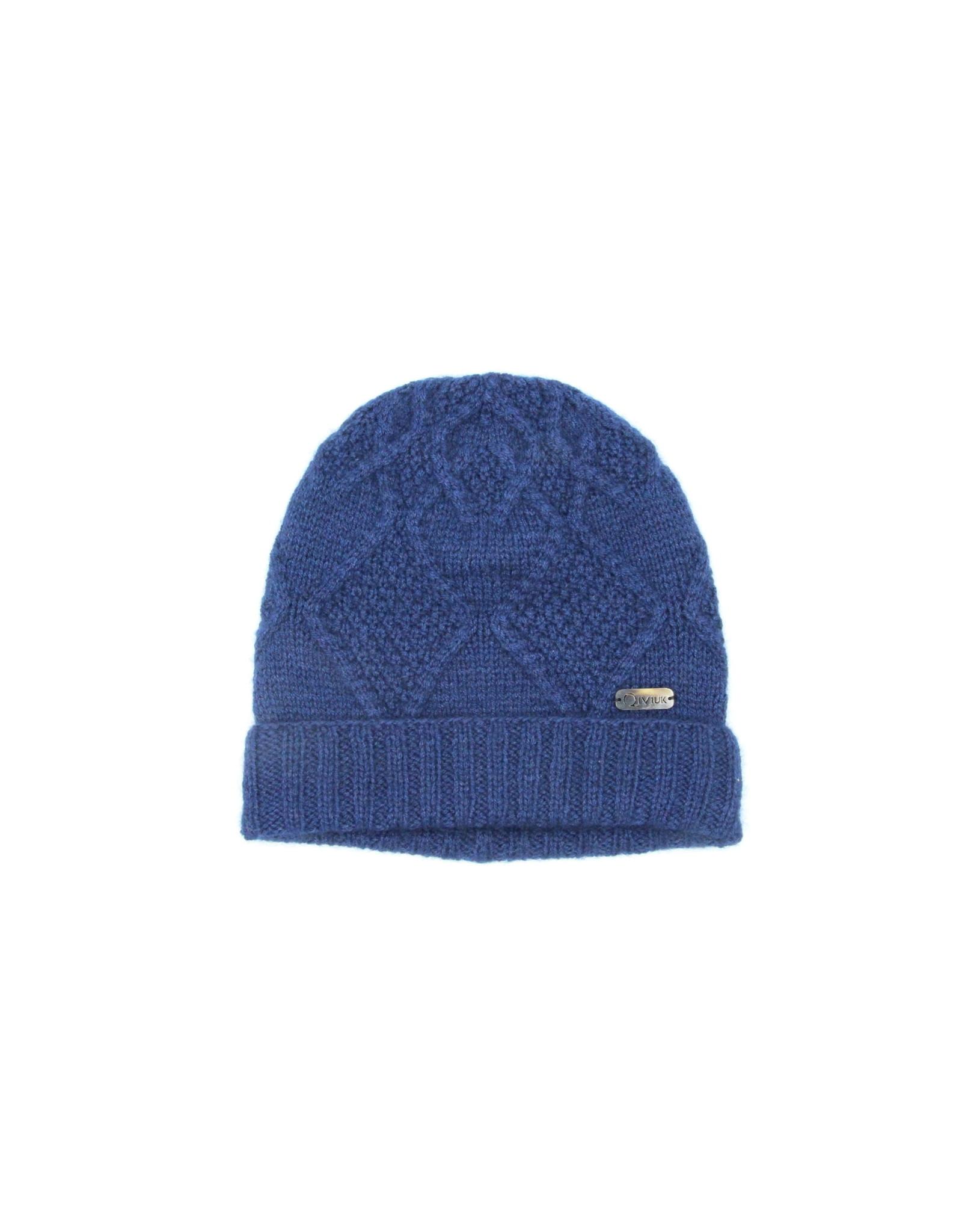 Mena Hat - 45% Qiviuk 45% Merino 10% Silk