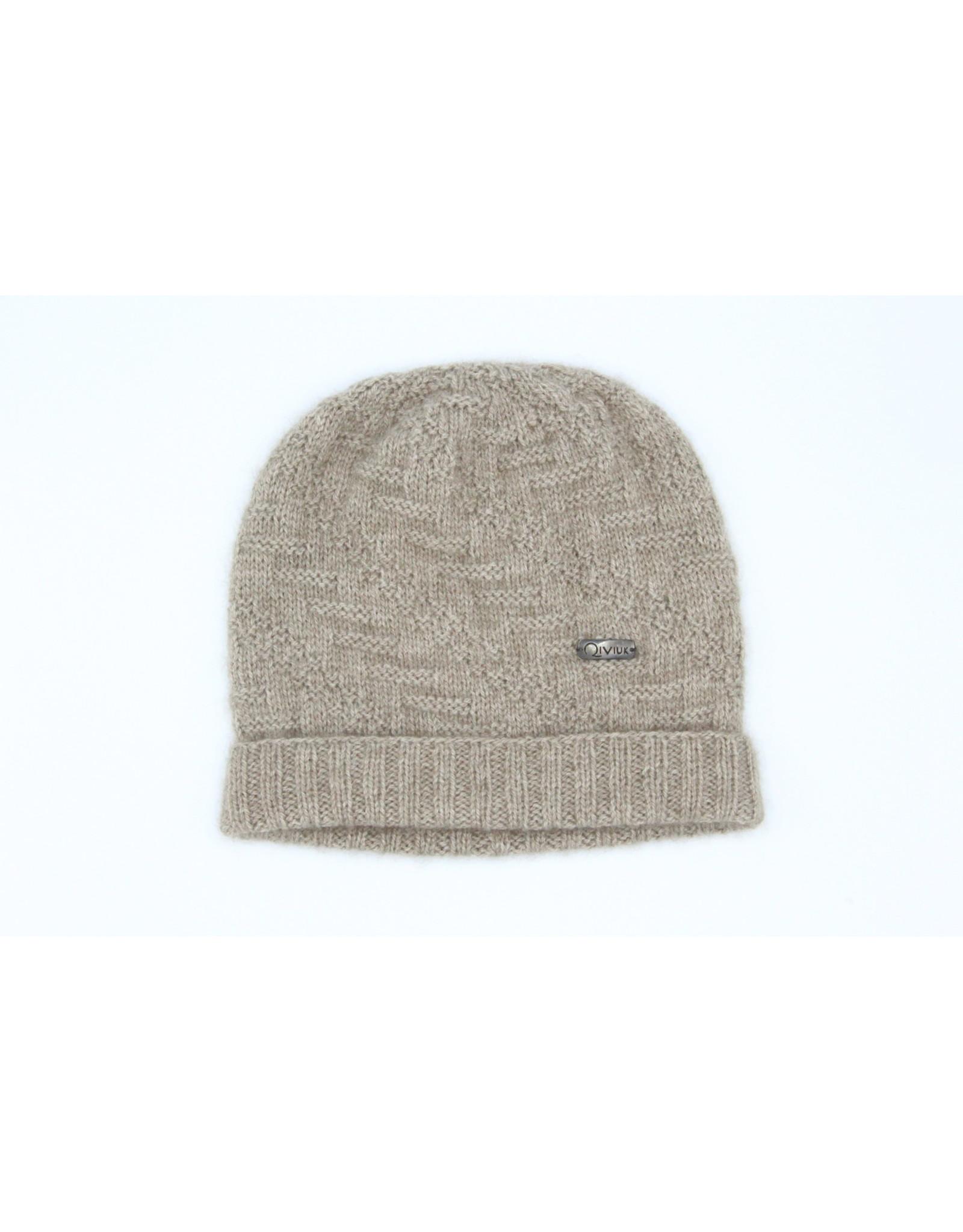 Casaca Hat - 45% Qiviuk 45% Merino 10% Silk