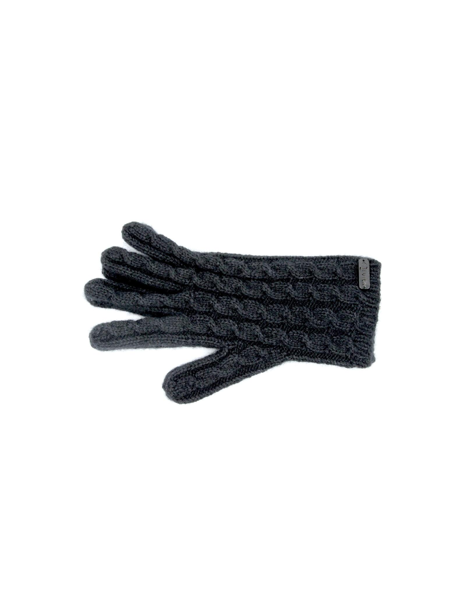 Gants Cable - 45% Qiviuk 45% Merino 10% Silk