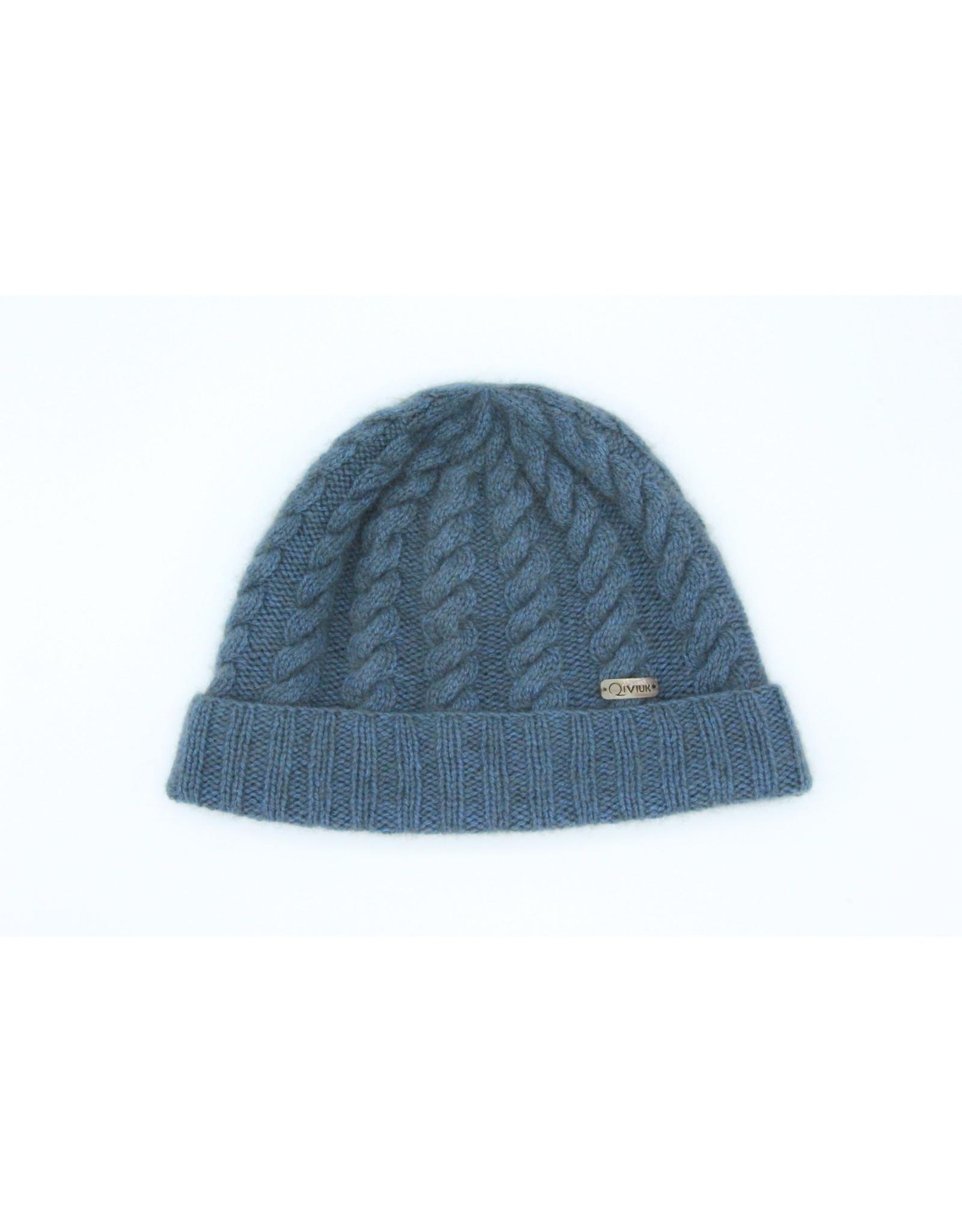 Cable Hat 100% Qiviuk