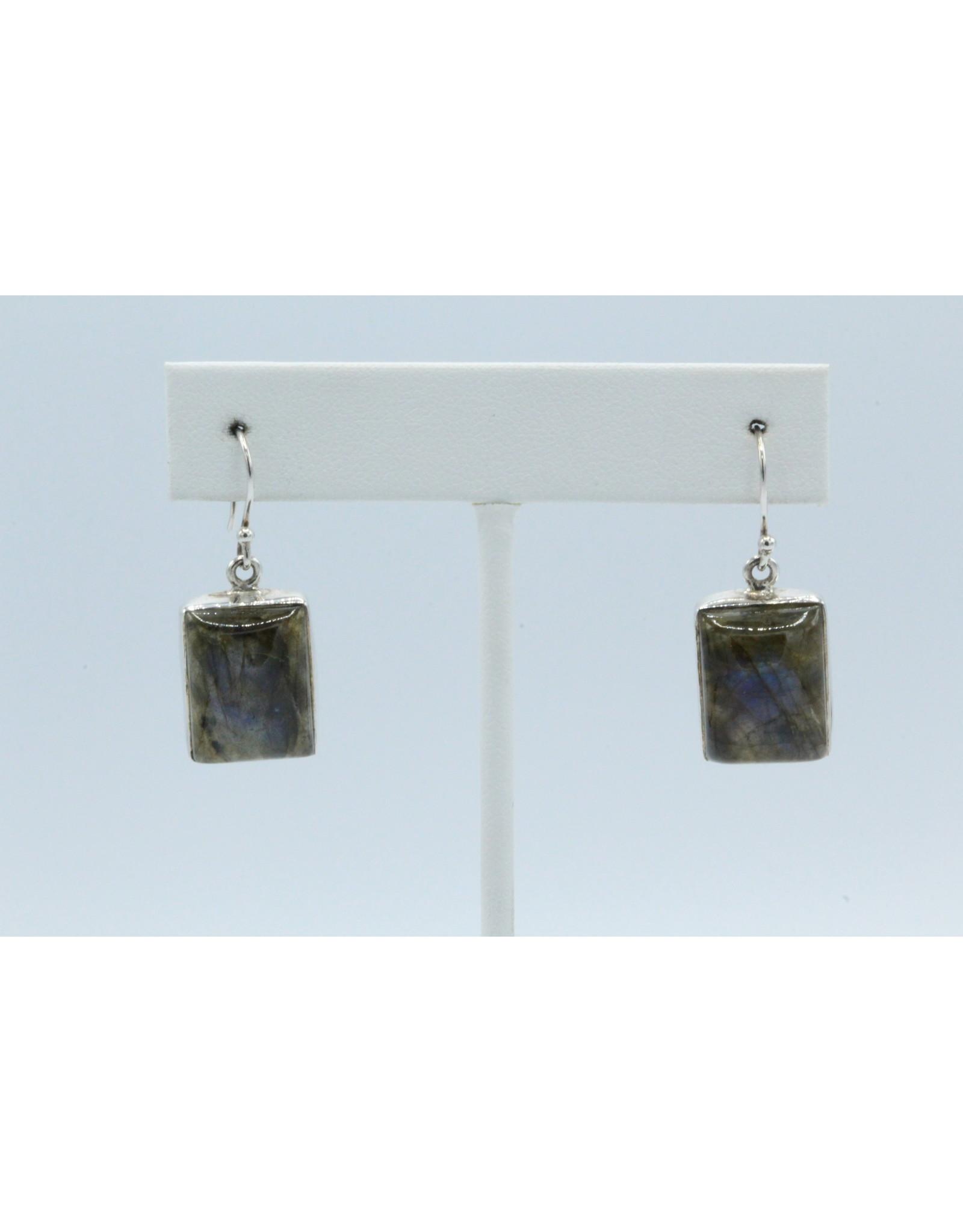 Labradorite Earrings - 104410