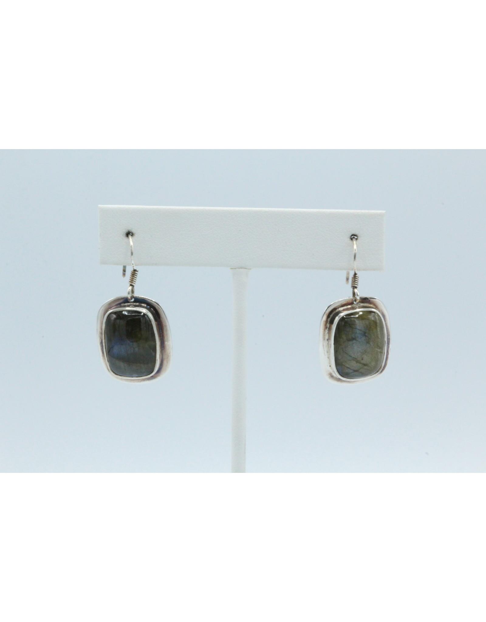 Labradorite Earrings - 104406