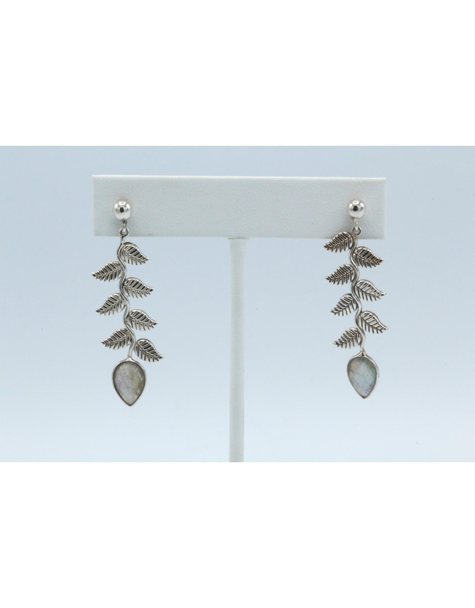 Labradorite Earrings - 104592