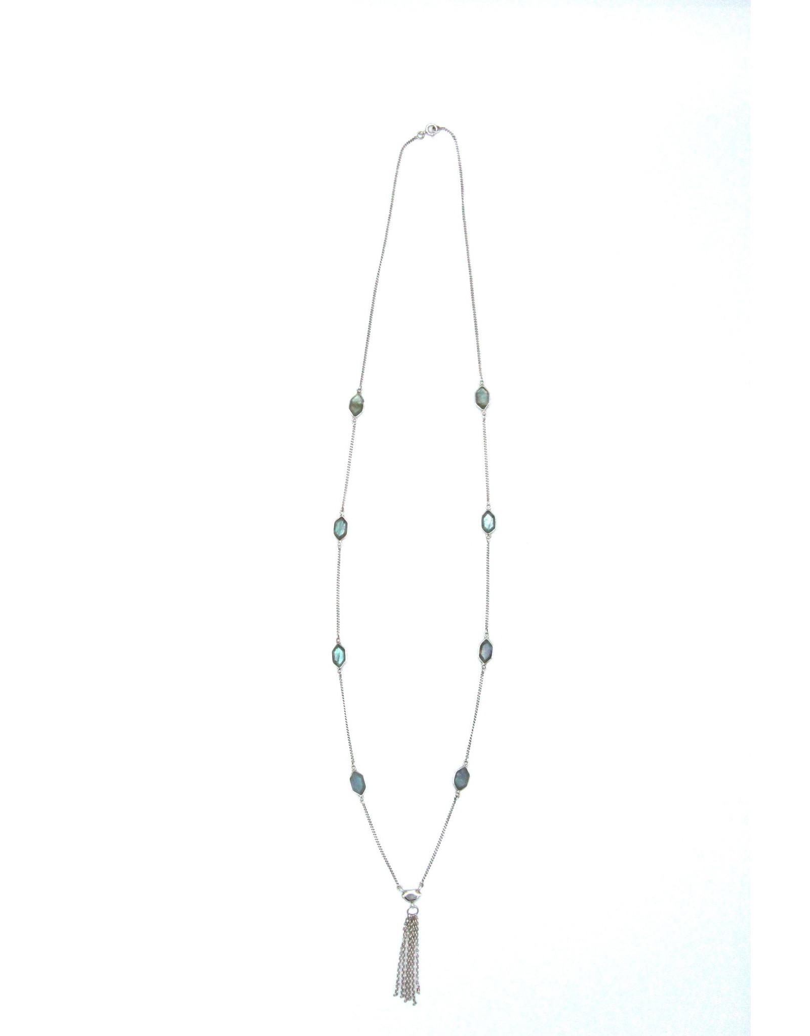 Labradorite Necklace - 102716