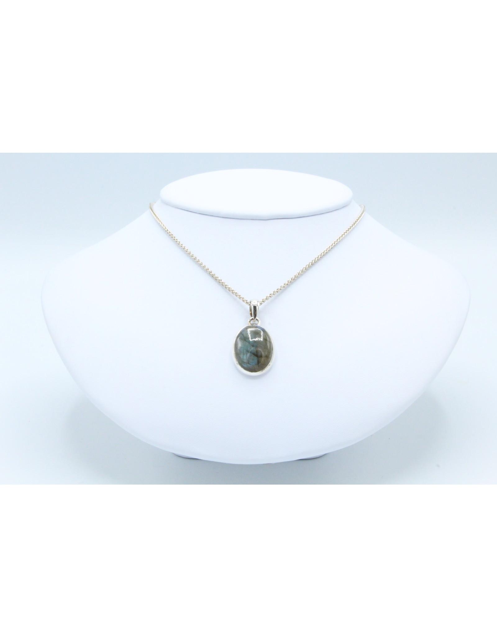 Collier en Labradorite - 104474