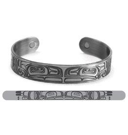 Bracelet Cuivre et Argent Brossé