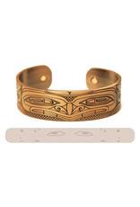 Copper & Brushed Silver Cuffs