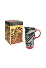 Perfect Mug - Raven Box by Allan Weir