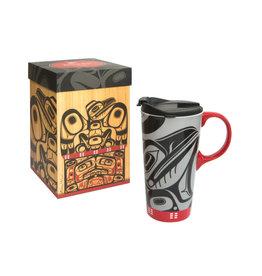 Perfect Mug - Raven Box by Allan Weir