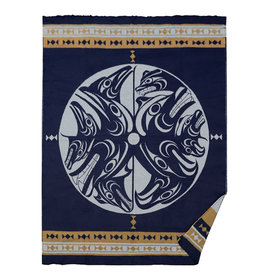 Harmony by Francis Horne Woven Blanket