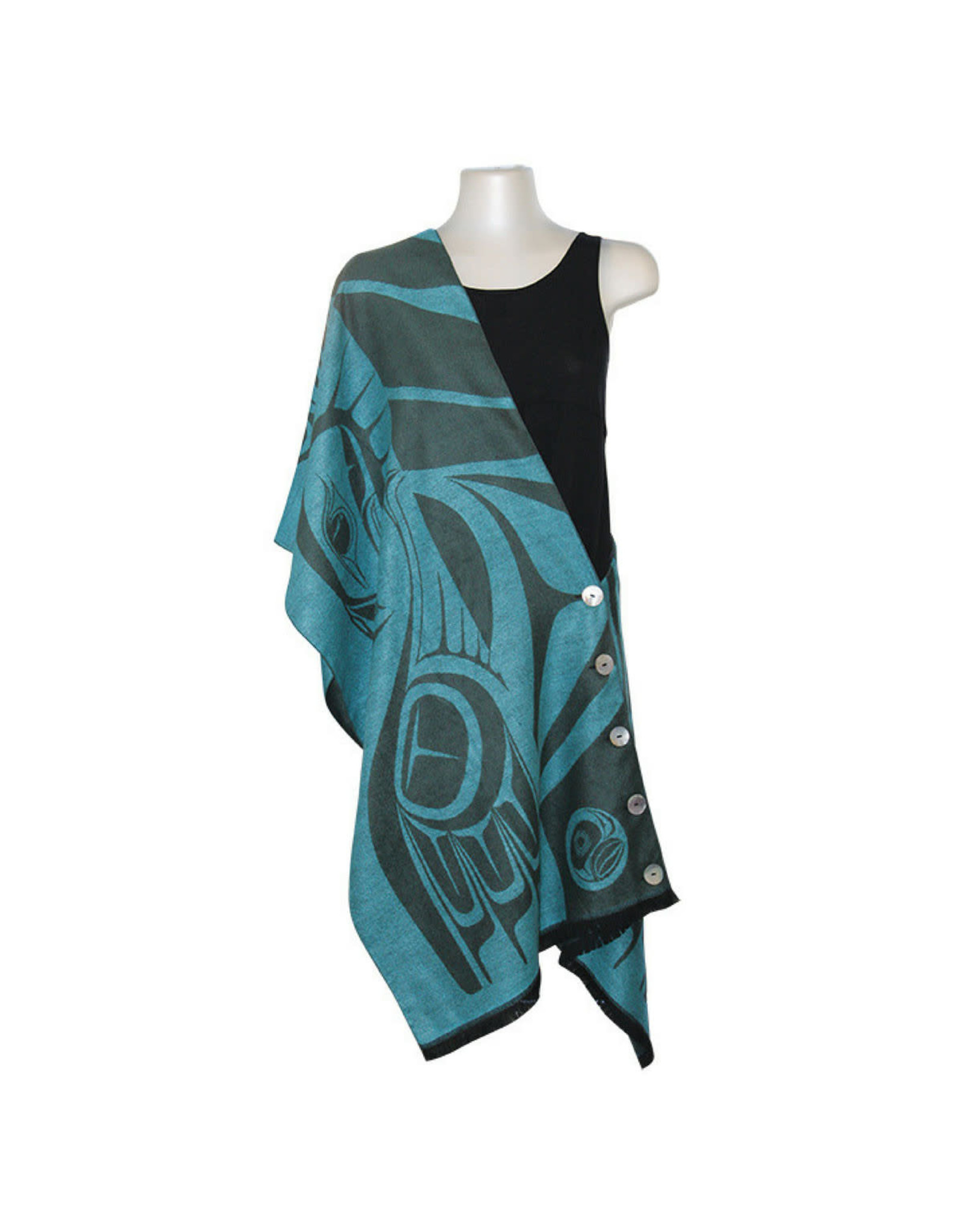 Button Shawl - Eagle by Paul Windsor (BS14)