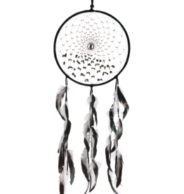 Dreamcatcher with Hematite Stones